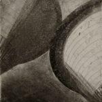 Laura Hirennau brutalisme architecture gravure dessin